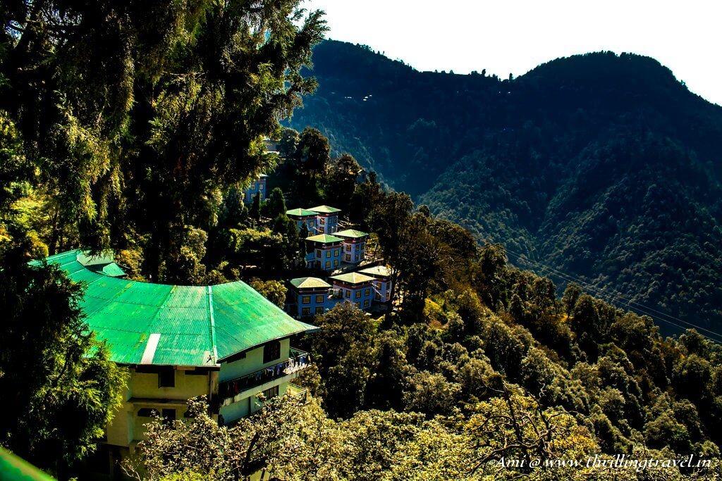 The Tibetan school in Happy Valley, Mussoorie