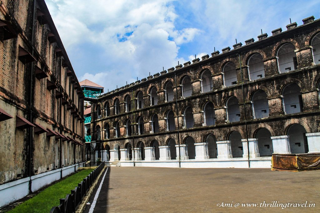 The wings of the Cellular Jail