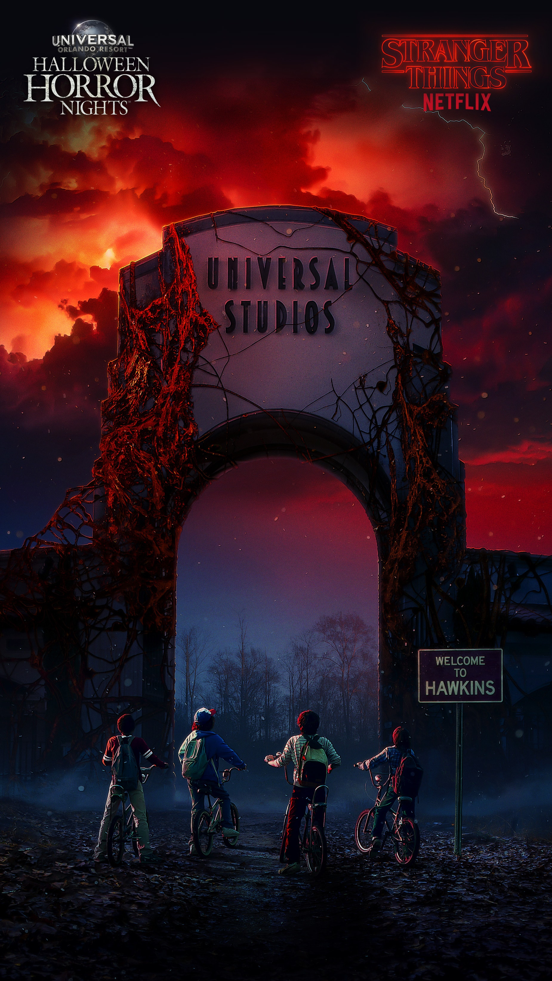 Fall Themed Wallpaper Iphone Universal Orlando Close Up Download Stranger Things