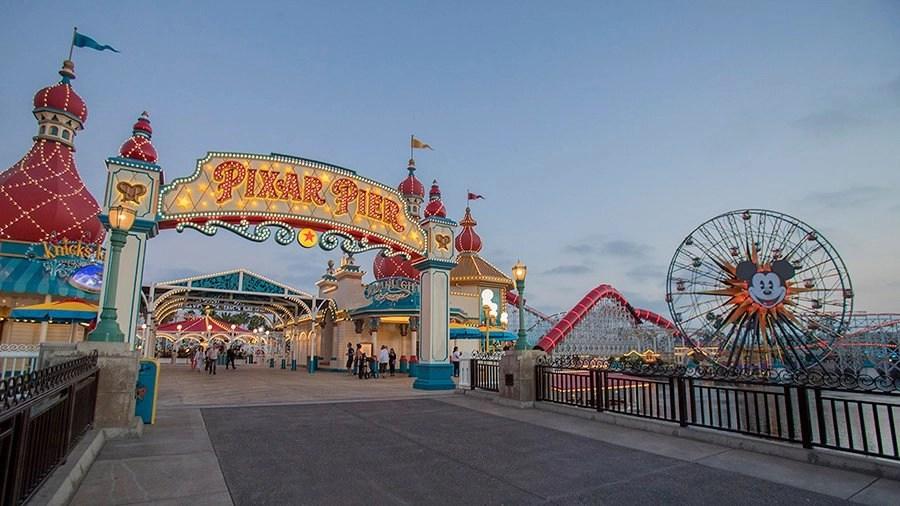 Pixar Pier Now Open to Guests at Disney California Adventure Park