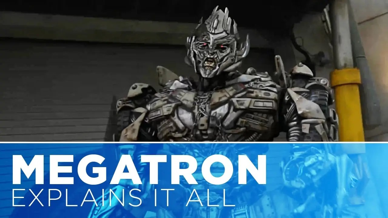 Megatron Explains It All: Early Park Admission