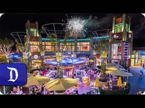 Downtown Disney District Hyperlapse   Disneyland Resort