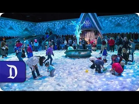 Olaf's Snow Fest | Disney California Adventure Park