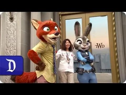 """Zootopia"" Characters Greet Guests at Disney California Adventure Park"