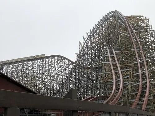 Bizarre tire accident causes Cedar Point's Steel Vengeance to shut down