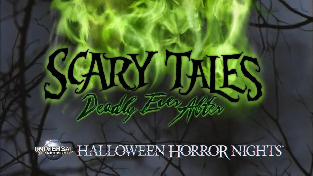 ScaryTales House Reveal | Halloween Horror Nights 2018