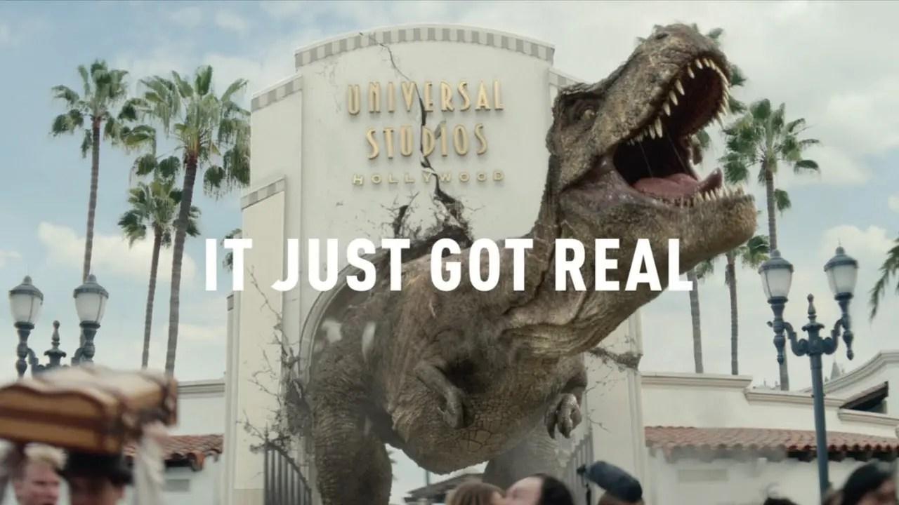 Jurassic World The Ride – It Just Got Real TV Spot