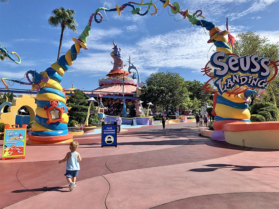 Seuss Landing in Universal's Islands of Adventure