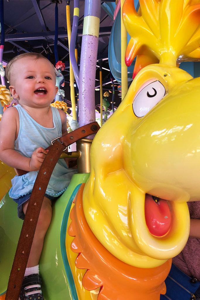 Caro-Seuss-el at Seuss Landing