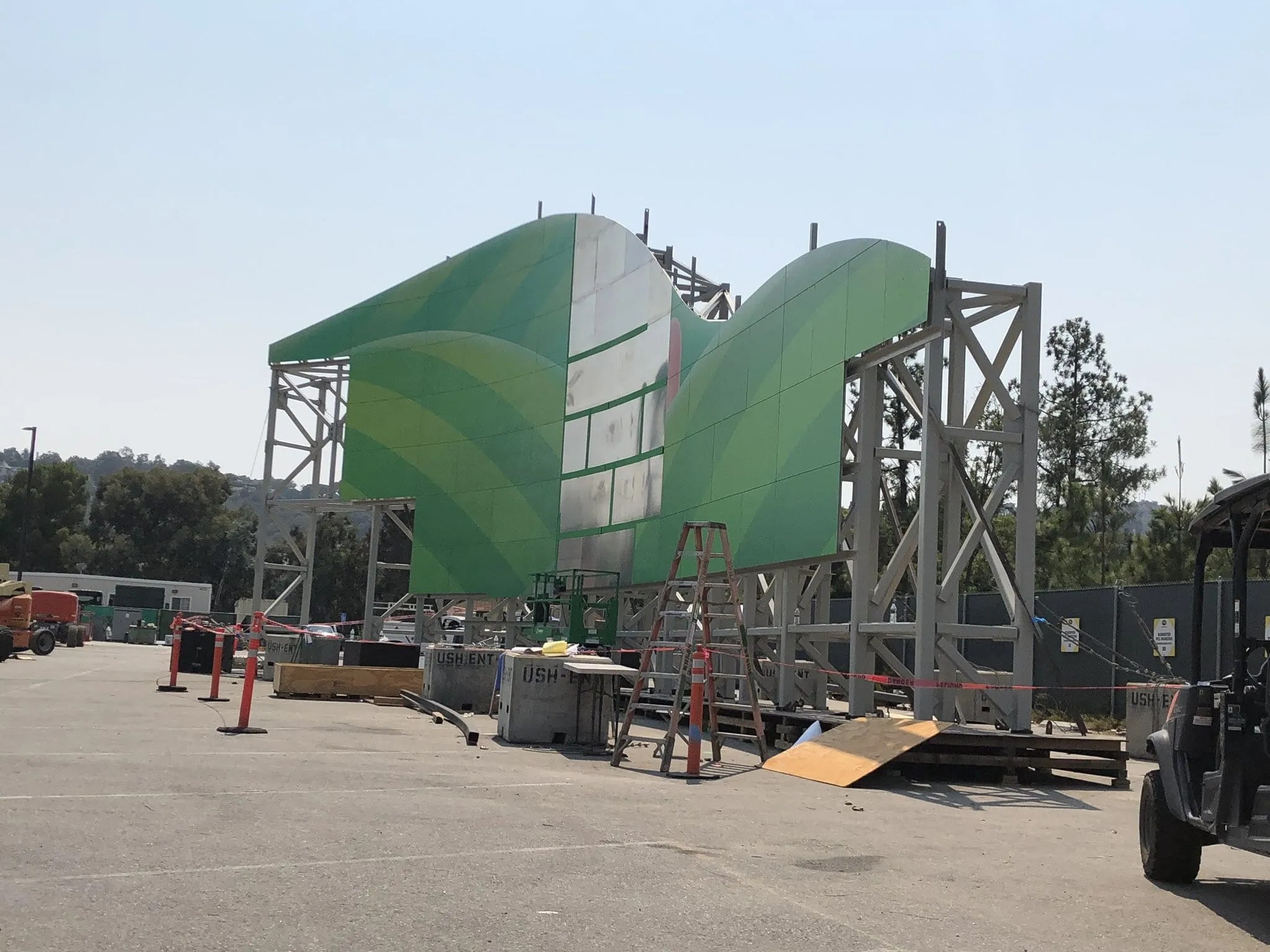 PHOTOS: First Look at Construction on Super Nintendo World in Universal Studios Hollywood