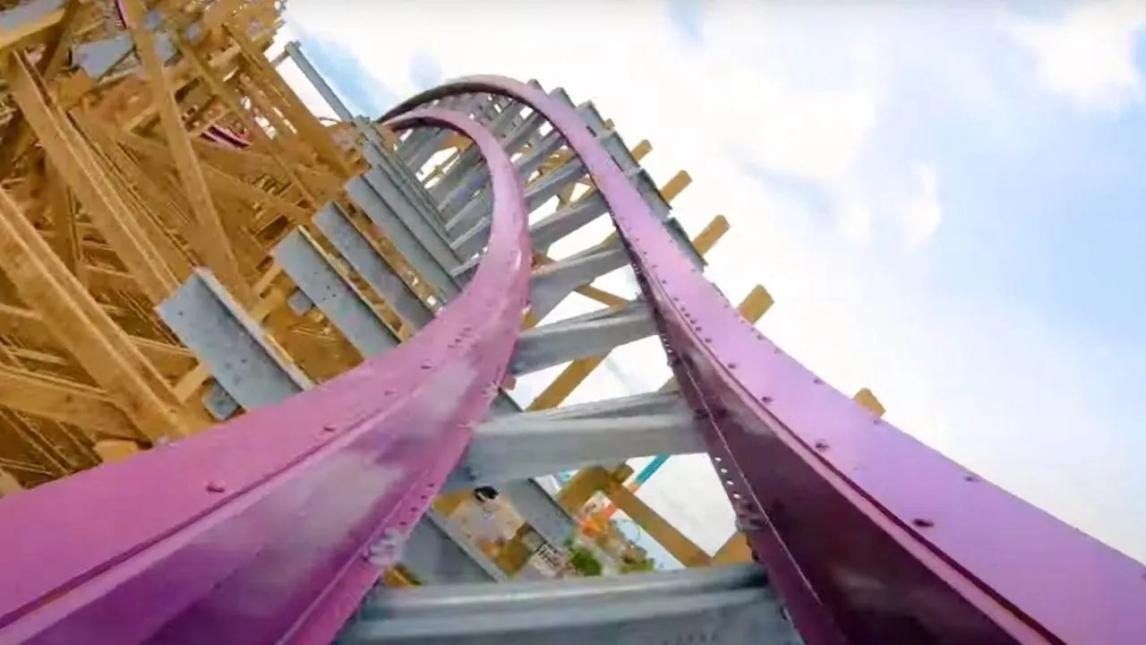 Busch Gardens Tampa Bay Releases POV of Iron Gwazi Coaster