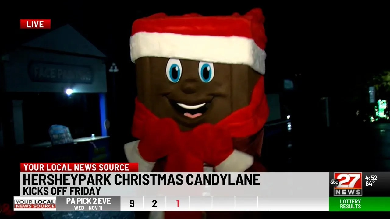 Hersheypark Christmas Candylane kicks off Friday, featuring more than 5 million lights