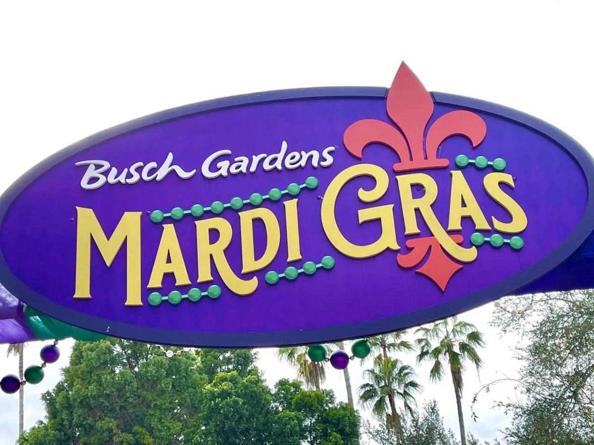 Busch Gardens Tampa Gets Jazzed Up with Mardi Gras Celebration