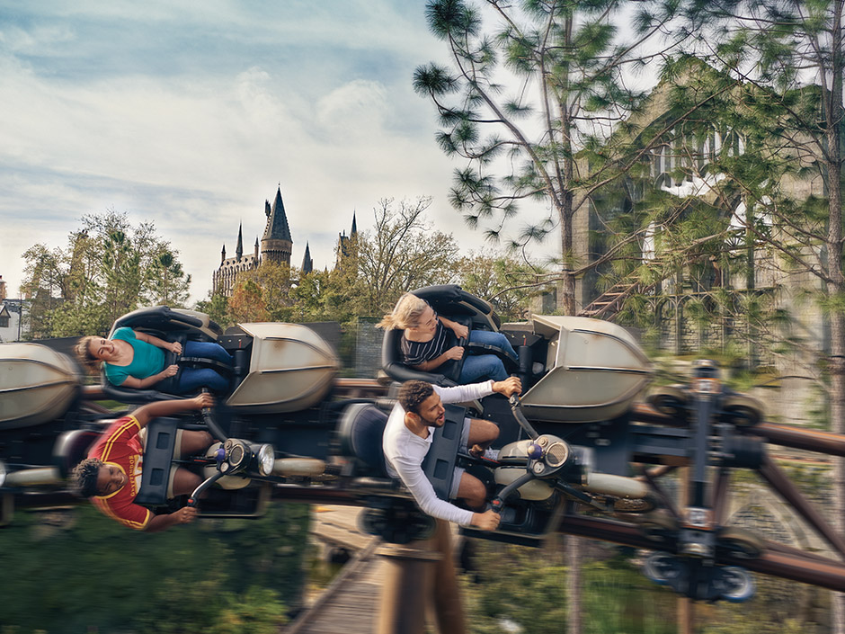 Hagrid's Magical Creatures Motorbike Adventure Coaster