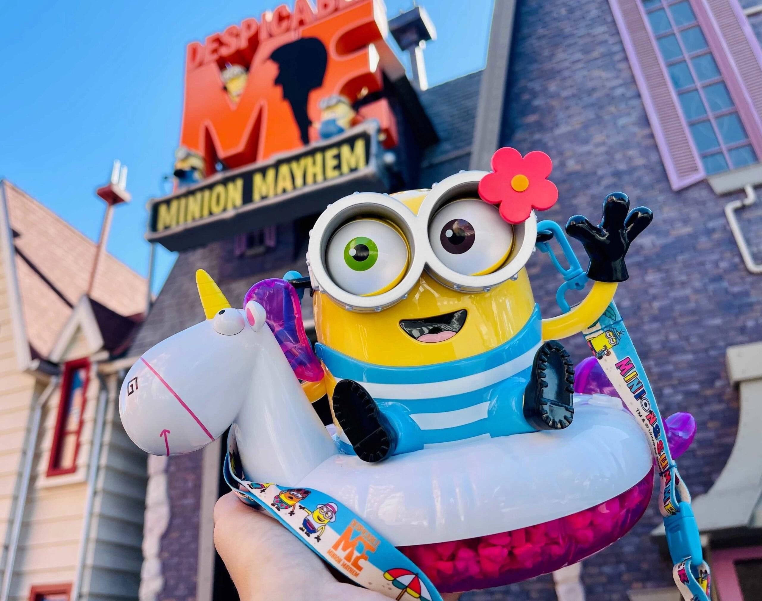 PHOTOS: Minions Summer Popcorn Bucket Splashes Into Universal Studios Hollywood