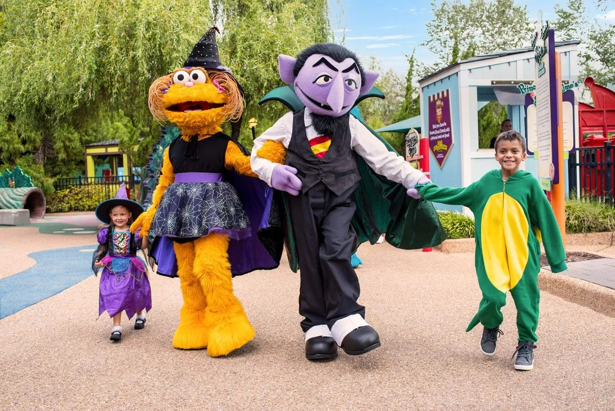Busch Gardens offers trick-or-treating, hay mazes and more with 'Sesame Street' activities for