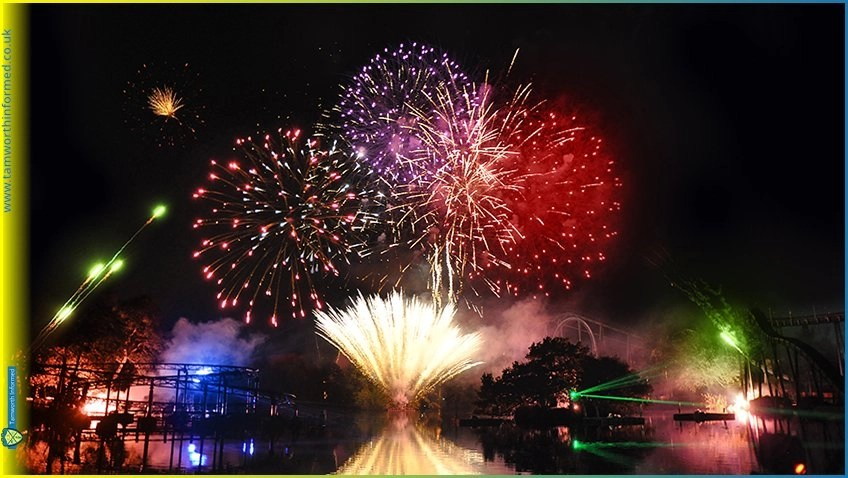 Drayton Manor Park's Fireworks Extravaganza is back with a bang for 2021!