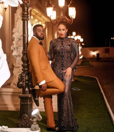Williams Uchemba wedding date with brunella oscar 2