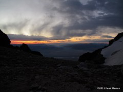 Sunrise from the Lower Saddle, Grand Teton - Thrillseekers Anonymous
