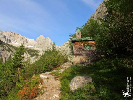 Höllentallerhutte Chapel