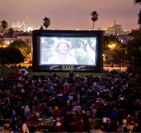 Outdoor Movie Screen Rentals North Bay Area Inflatable