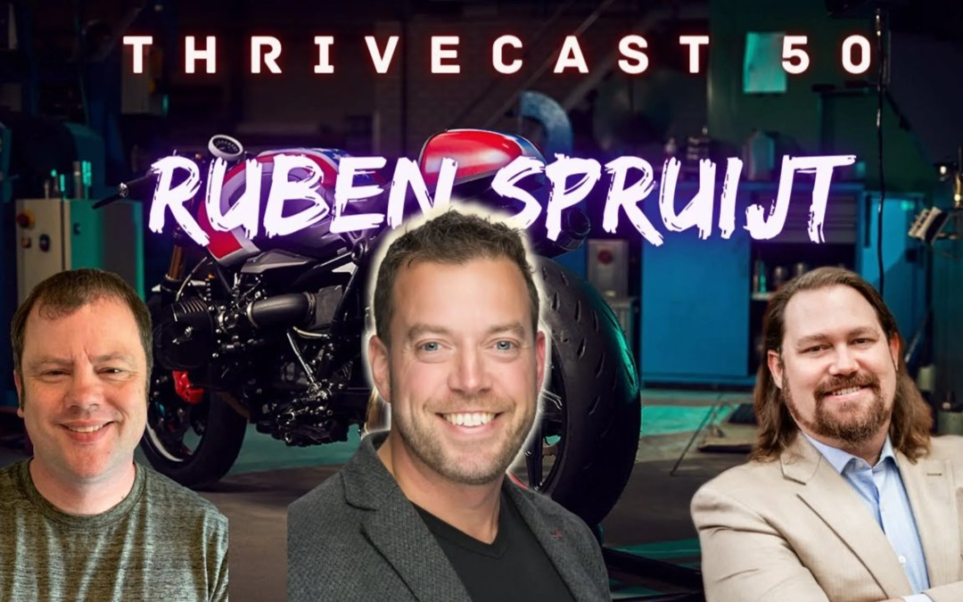 Episode #50:  Ruben Spruijt on finding Balance in IT, Family, and Motorcycles