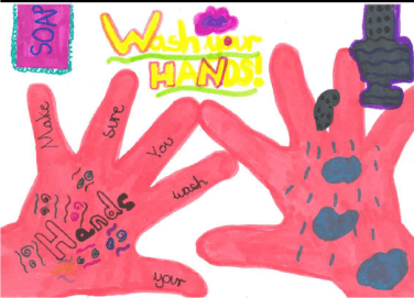 Wash your hands - make sure