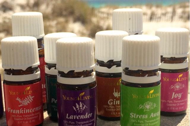 THRIVE Activewear essential oils