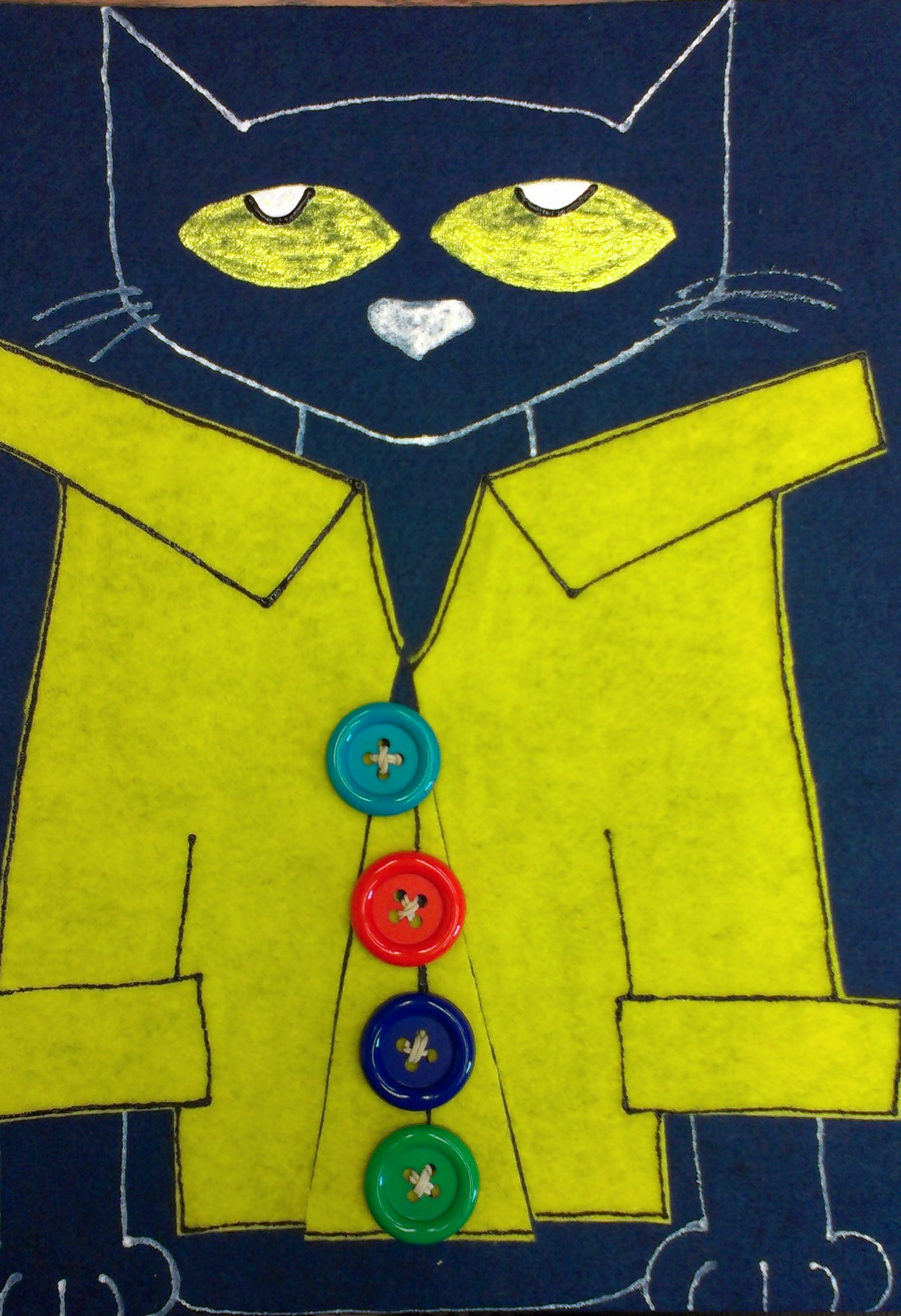 Pete The Cat S Groovy Buttons