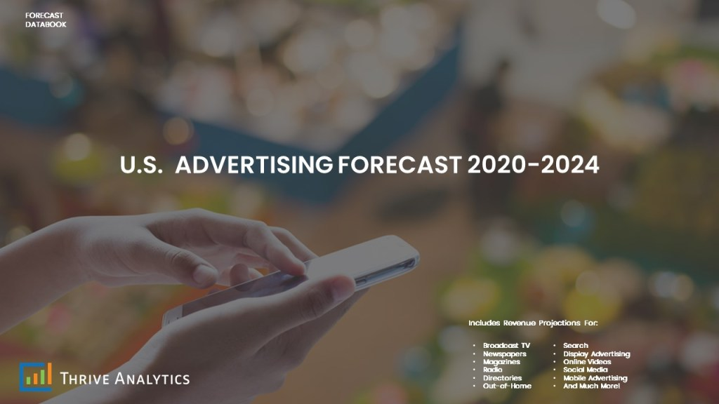 U.S. Advertising Forecast 2020-2024