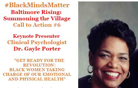 BMHA Baltimore Rising with Dr Gayle Porter