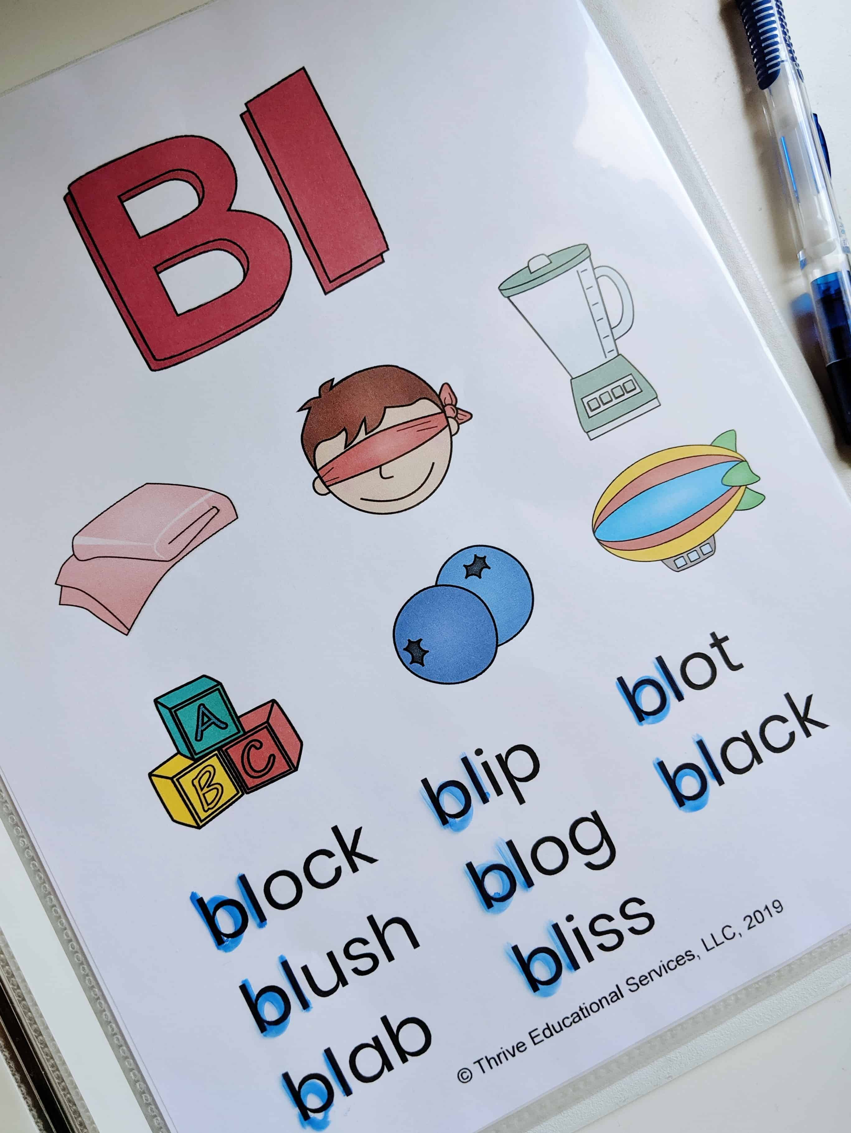 L Blends Activities And Worksheets