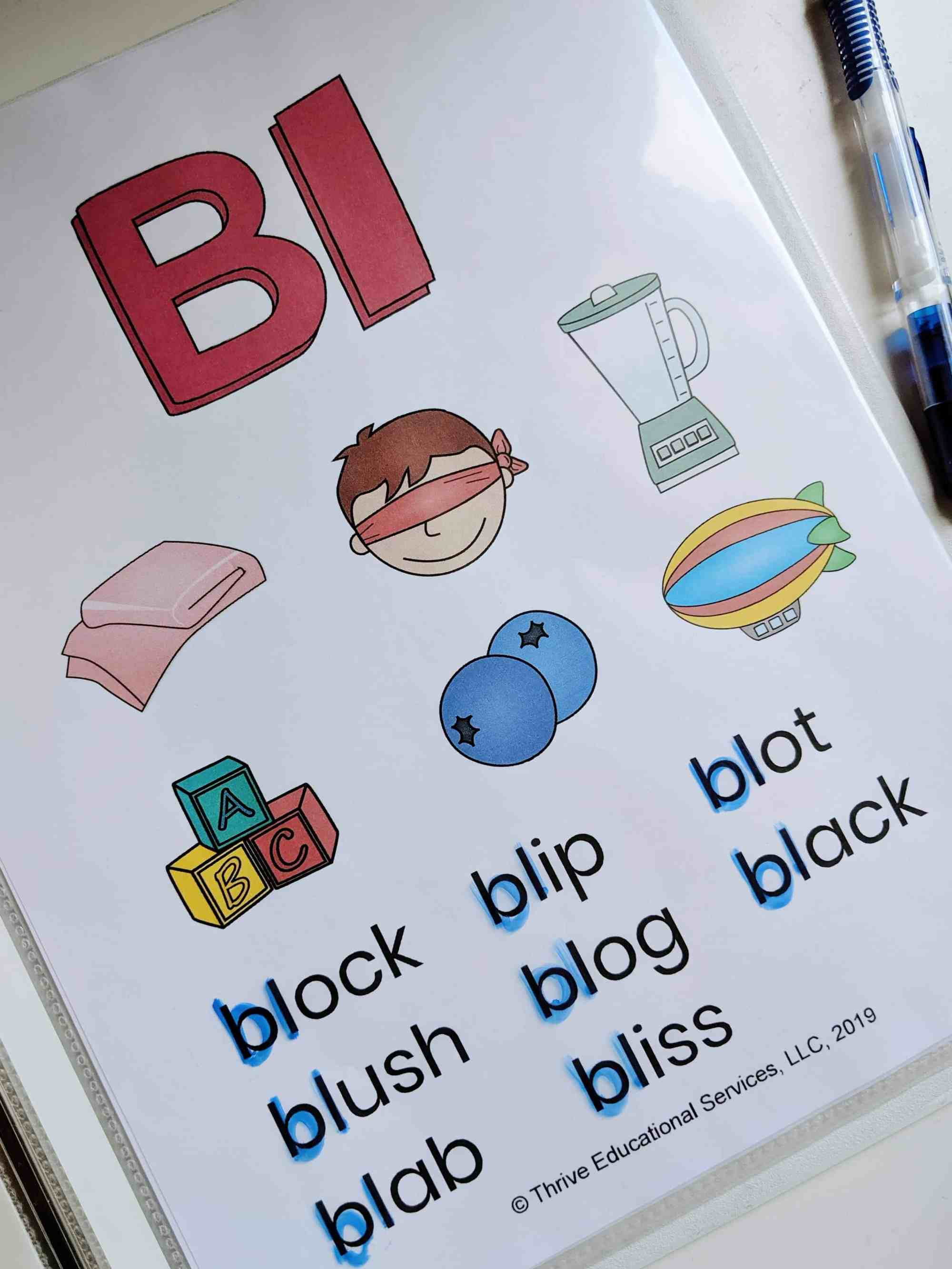 hight resolution of L Blends Activities And Worksheets