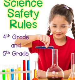 Science Safety Rules for 4th and 5th Graders - Thrive in Grade Five [ 1152 x 960 Pixel ]