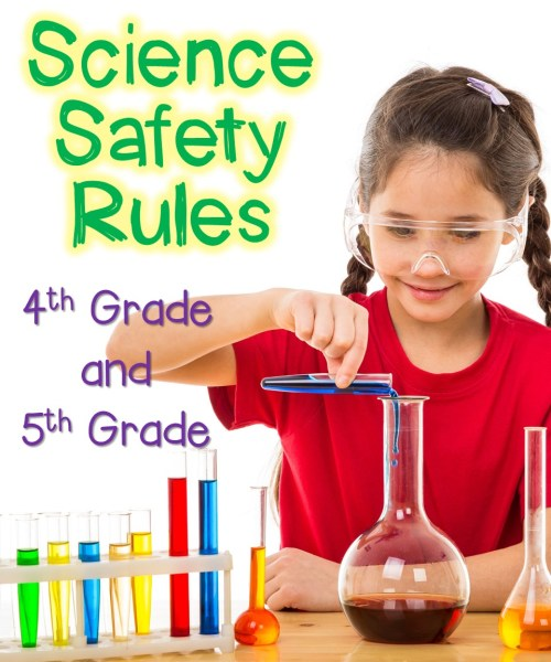 small resolution of Science Safety Rules for 4th and 5th Graders - Thrive in Grade Five