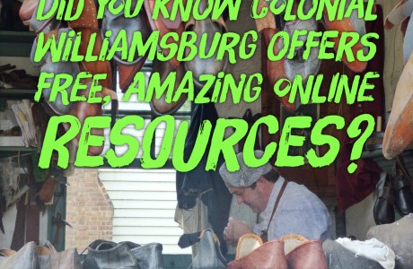 Free online social studies resources from Colonial Williamsburg