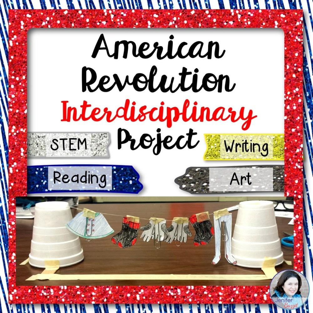 medium resolution of Engaging American Revolution Interdisciplinary Project: STEM