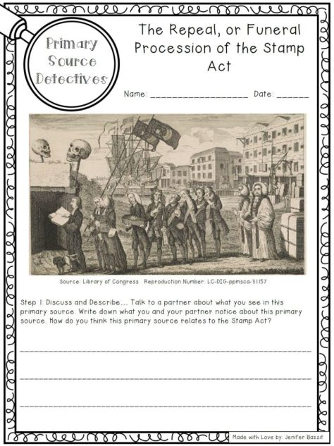 Stamp Act; Road to Revolution; American Revolution activities