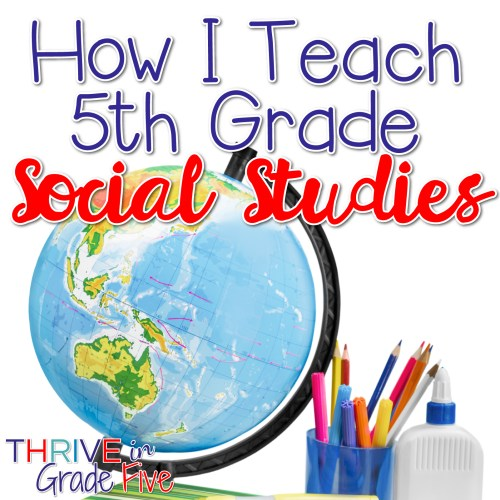 small resolution of How I Teach 5th Grade Social Studies - Thrive in Grade Five