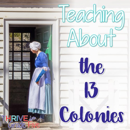 small resolution of Teaching About the 13 Colonies - Thrive in Grade Five