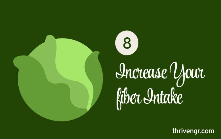 Increase Your Fiber Intake