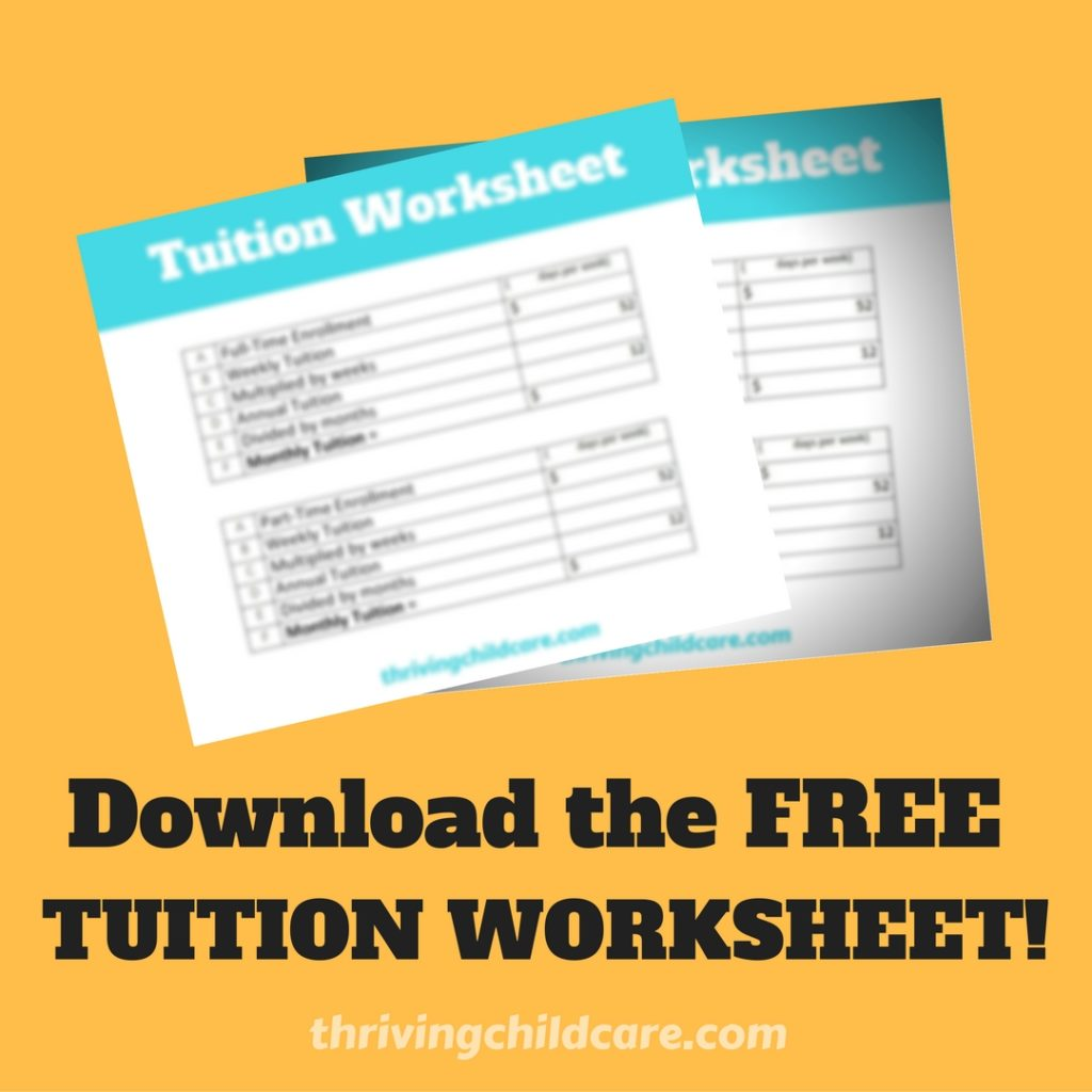 Tuition Worksheet