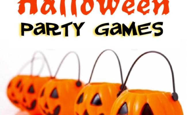 Halloween Birthday Party Ideas Games