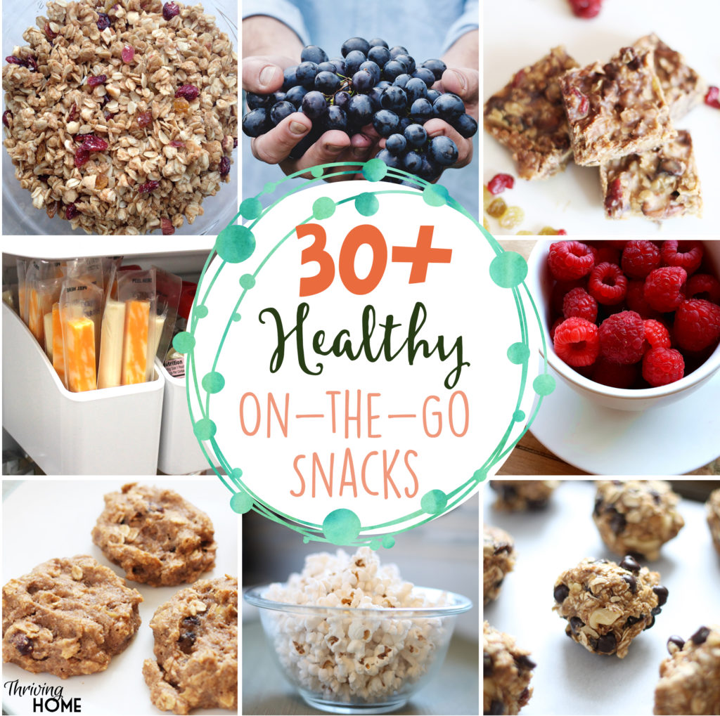 Health Snacks For Adults