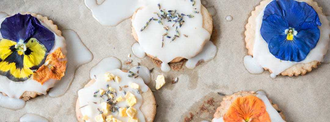 AIP Lavender Shortbread Cookies