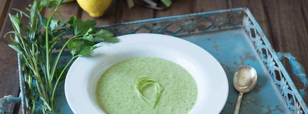 Asparagus Soup (Paleo, AIP variation)