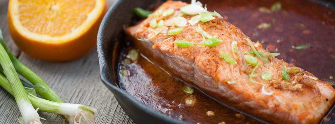 Paleo Asian Baked Salmon