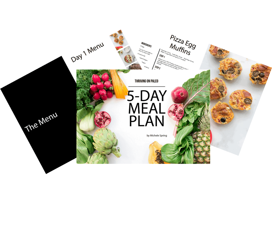 Free 5 Day Paleo Meal Plan