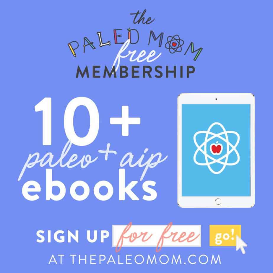 The Paleo Mom free Paleo ebooks