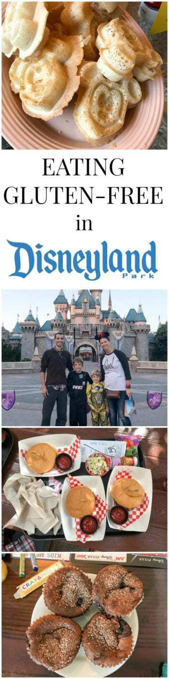 Want to know how to eat gluten-free in Disneyland? I've got you covered with tons of pictures, experiences, allergy menus, and tips from our recent trip.